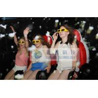 Buy cheap 6 People 7D Motion Cinema Mobile Truck With Special Effect Motion Chairs product
