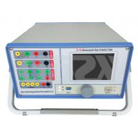 Buy cheap 3 Phase XP System Relay Protection Tester , Protective Relay Tester Accuracy 0.5 Class from wholesalers