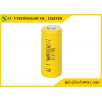 Buy cheap Low Self Discharge NICD Nickel Cadmium Battery 1.2V 2/3N 300mah Ong Cycle Life​ from wholesalers