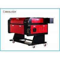 Buy cheap Small Desktop 50w 60w CO2 Laser Engraving Cutting Machine For Fabric Textile from wholesalers