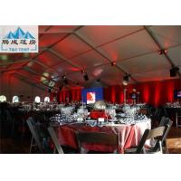 Buy cheap 15x30M White Marquee Party Tent For Wedding With Galvanized Steel UV Resistant from wholesalers