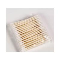 Buy cheap Soft Texture Medical Cotton Swab , Cotton Applicator Sterile No Hurt To Skin product