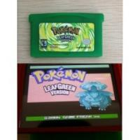 Buy cheap Pokemon Leef Green Version Gameboy Games for GBA Game Boy Advance SP from wholesalers