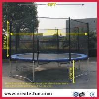 Buy cheap 12ft large round trampoline from wholesalers
