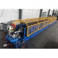 Buy cheap Steel Pipe Roll Forming Machine , 7-12m / Min Capacity Water Gutter Roll Forming Machine from wholesalers