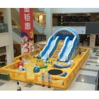 Buy cheap Commercial indoor Shopping malls used new design inflatable Ball pit with slide for kids from wholesalers