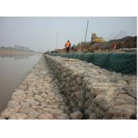 Buy cheap plastic galfan coated steel hesco security rock filled gabion/wire mesh baskets 1x1x2 for sale from wholesalers
