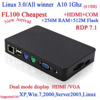 Buy cheap 56  Wireless Thin Client Intel Core Duo 2.0GHZ RDP7 All Winner A10 Single-core 1G from wholesalers