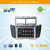 Buy cheap Android 4.4 car dvd player GPS navigation for Toyota Yaris 2005-2011 car stereo quad core from wholesalers