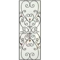 Buy cheap wrought iron glass, door glass, decortation glass, inlaid glass, art glass from wholesalers