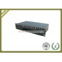 Buy cheap 2U 16 Slots Media Converter Rack Mount Chassis With Dual Power For Card Type from wholesalers