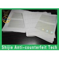 Buy cheap Transparent no bubbles Safety shipping USA ID hologram overlay Kentucky / Fl / SC / NJ good quality from wholesalers