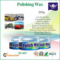 China 200g Carnauba Car Wax Polish Protection To Remove Oxidized Layer On Car Body on sale