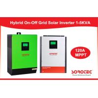 China CE Solar System Inverter / Grid Tied Solar Power Inverters with Battery Pack on sale