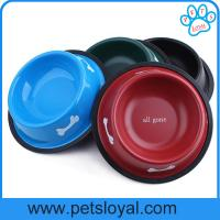 Buy cheap High Quality melamine bowl for Pet paw print dog bowl Melamine material pet bowl from wholesalers