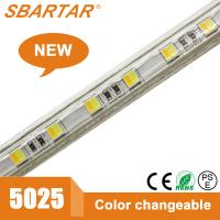 Buy cheap LED 5025 60LED double color temperature Strip light 5025 strip double CCT strip from wholesalers