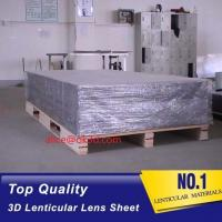 Buy cheap PET 51X71CM 75LPI 0.45mm Lenticular Sheet with super transpancy for making product