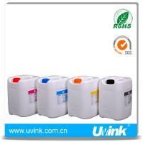 Buy cheap Uvink brand solvent ink for konica 14pl/35pl 4colors available from wholesalers