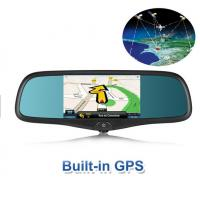 Buy cheap 1080P Bluetooth Auto Rear View Mirror 320000 Pixels Dual DVR Camera from wholesalers
