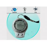Buy cheap IPX4 Waterproof Digital Outdoor Camping Compass with Carabiner Key Chain SR104 CE, RoHS from wholesalers
