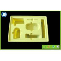 Buy cheap Hairy Skin Care Yellow Flocking Tray Cosmetics for Beauty Industry product