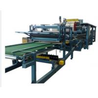 Buy cheap Roof / Wall PU Foam Sandwich Panel Making Machine 50mm - 300mm Thickness from wholesalers