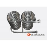 Buy cheap Seamless 316L Stainless Steel Coil Heat Exchanger OD 25 MM Tube Spiral Type from wholesalers
