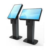 Buy cheap Vertical Horizontal Interactive Information Kiosk , 32 LCD Digital Kiosk Touch Screen from wholesalers