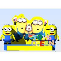 Buy cheap Yellow Minion Inflatable Bounce House Mini Inflatable Minion Castle For Kids from wholesalers