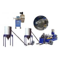 Buy cheap Parallel twin screw hot cutting pelletizing granulation production line/equipment/machine product