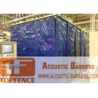 Buy cheap 30dB noise Insulation portable noise barriers for construction chain link fence panels from wholesalers
