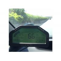 Buy cheap 12v Race Car Dashboard On Board Diagnostic Ii Fuel Level Display 9000 RPM from wholesalers