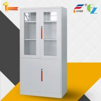 Buy cheap Excellent quality office furniture KD glass&metal door steel cupboard/ steel cabinet from wholesalers