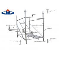 Buy cheap Hot Dipped Galvanized Ringlock Scaffolding System 1.8mm-4.0mm Thickness product