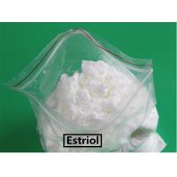 Buy cheap Female Hormone Estrogen White Crystalline Powder Estriol,	Raw Estriol Powder from wholesalers