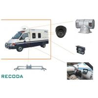 Buy cheap 1/3 Sony CCD 360 Degree Rotation Armed Escort Vehicle Security Camera System from wholesalers
