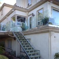 Buy cheap Hot sale aluminum U channel base frameless glass railing outdoor from wholesalers