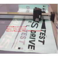 Buy cheap Vinyl Sticker Self Adhesive Film CNC Flatbed Kiss Cutting Machine from wholesalers