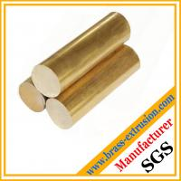 Buy cheap copper alloy extruded casting round brass bars brass rods from wholesalers