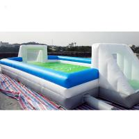 Buy cheap Commercial Inflatable Sports Games , Outdoor Inflatable Football Playground from wholesalers