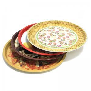 Buy cheap custom metal round fruit tin trays product