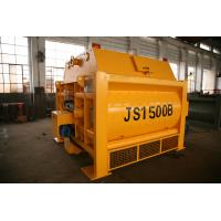 Buy cheap High Technology Twin Shaft JS1500 Stationary Concrete Mixer 1500L Concrete Mixer product