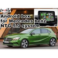 Buy cheap Android car gps navigation box interface for Mercedes benz  A class ( NTG 5.0 ) mirrorlink from wholesalers