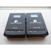 Buy cheap L8 Mini Handheld Wireless Tour Guide System Transmitter And Receiver For Exhibition from wholesalers