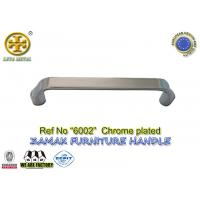 Buy cheap Spec 96/128mm  No 6002 zinc cabinet handle metal  furniture hardware color chrome plated from wholesalers