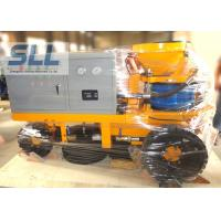 Buy cheap Less environmental pollution SPZ3000 electric wet concrete evenly spray shotcrete machine from wholesalers