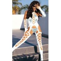 Buy cheap sexy white leggings lingerie from wholesalers