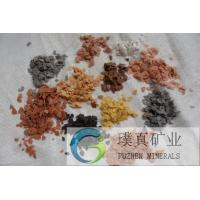 Buy cheap High molecular polymer Rock Slice for marble granite painting natural colorful Rock Slice from wholesalers
