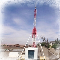 Buy cheap Tripod battary Winch Up 45KG 30M Lattice Steel Towers from wholesalers