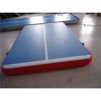 Buy cheap 5cm Indoor Tumble Track Equipment , Blue Air Track Trampoline With ROHS/SGS CERT from wholesalers